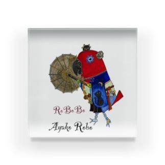 ROBOBOオオハナインコ 「妖子ロボ」 Acrylic Block