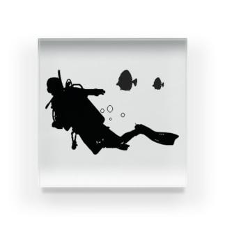 スキューバダイビング Acrylic Block