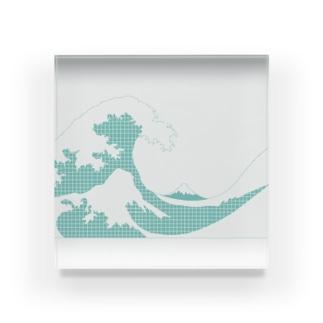 おおなみ Acrylic Block