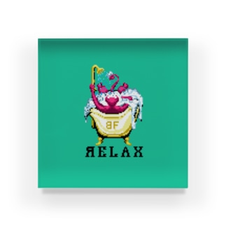 RELAX アクリルブロック