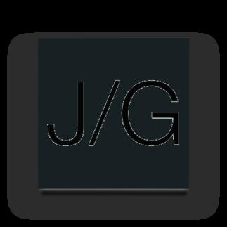 John GastroのJ/G アクリルブロック