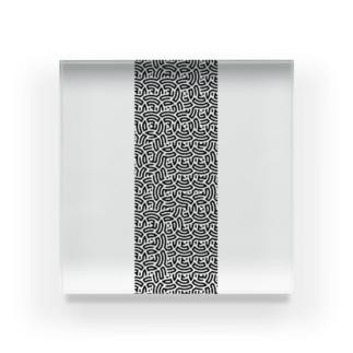 numeric conversion figure 1 Acrylic Block
