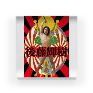 千代田区議会議員選挙 Acrylic Block