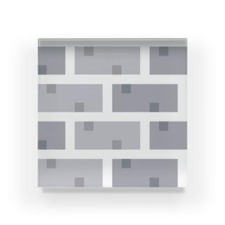 RPG map chip【レンガ(中間)】 Acrylic Block