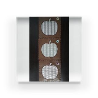 りんご Acrylic Block