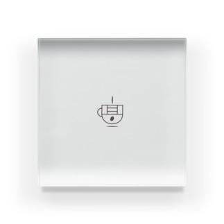 【ロゴのみ】takatani_coffee_goods Acrylic Block