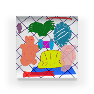 桜の部屋 Acrylic Block