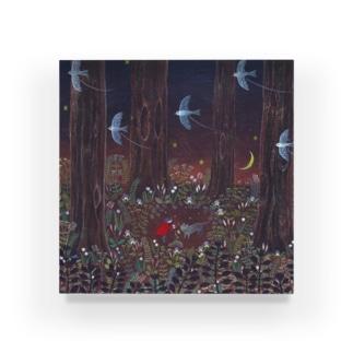 月夜の秘密 Acrylic Block