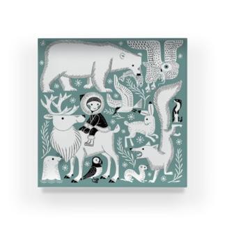 北極の生き物 Acrylic Block