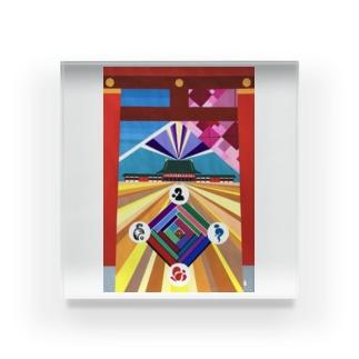 平安-heian- Acrylic Block