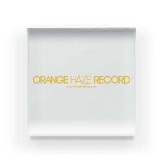 ORANGE HAZE RECORD アクリルブロック