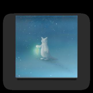 PygmyCat suzuri店のクリスマスの夜に Acrylic Block