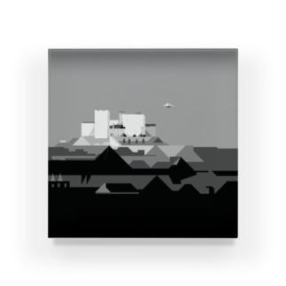 マンション城 アクリルブロック
