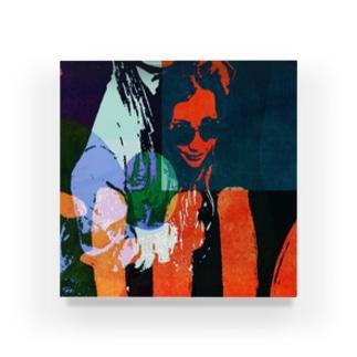 ロック風オリジナルデザイン Acrylic Block