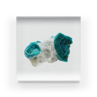 石の板 アクリルブロック