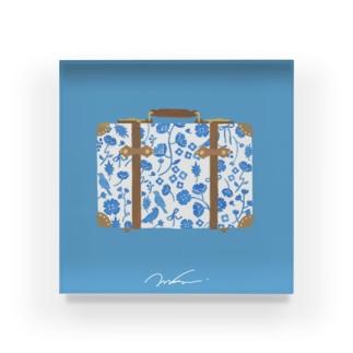 旅のトランク Acrylic Block