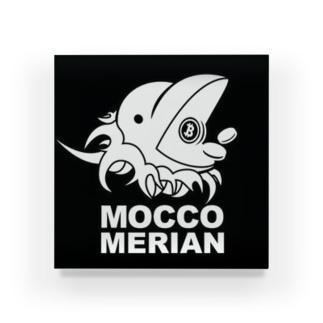モッコメリアンロゴ by柚木勇魚 Acrylic Block