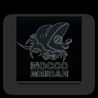 モッコメリアンファクトリーのモッコメリアンロゴ by柚木勇魚 Acrylic Block