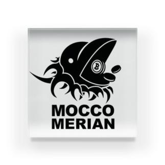 モッコメリアン by柚木勇魚 Acrylic Block