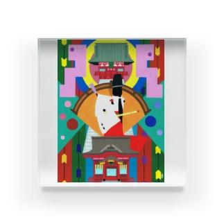 鶴岡八幡宮-tsuruoka- Acrylic Block