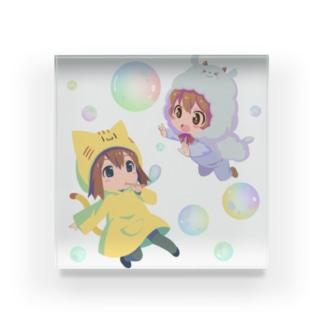 わかめこひつじこちゃん Acrylic Block