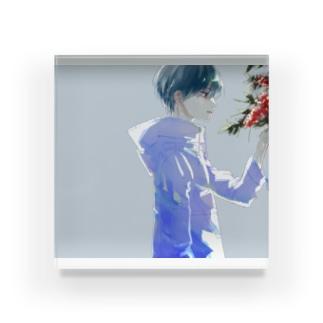 ナンテン Acrylic Block