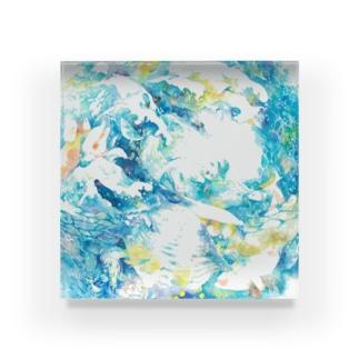 凪と波 Acrylic Block