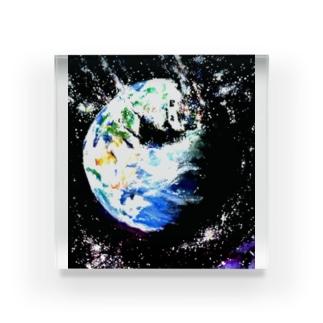 HAYABUSA Acrylic Block