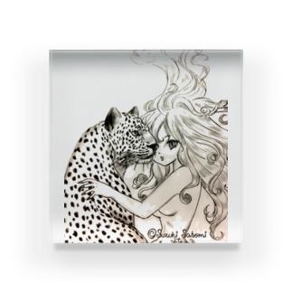 女豹 Acrylic Block