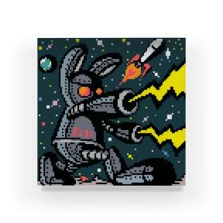 月の平和を守れ‼ Acrylic Block