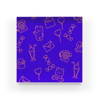 ファンシーパターン Acrylic Block