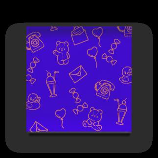 ラムネストアのファンシーパターン Acrylic Block