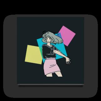 マキノノマのミニスカポップ Acrylic Block