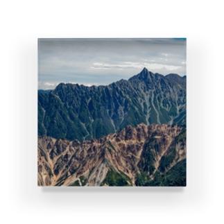 槍ヶ岳 Acrylic Block