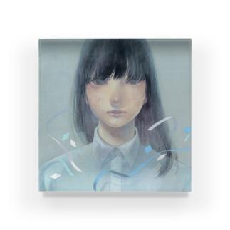 作品「祝福」 Acrylic Block