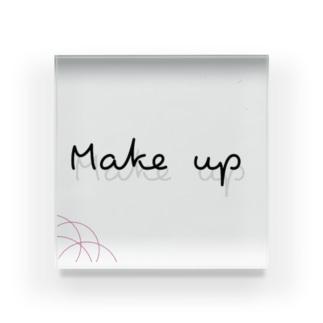 Make up Acrylic Block