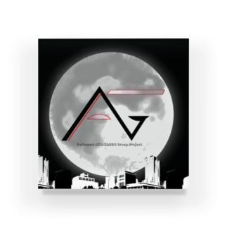 FAGロゴ/都会夜景 Acrylic Block