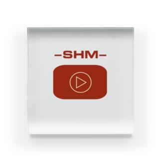 SHM 新ロゴ アイテムズ Acrylic Block