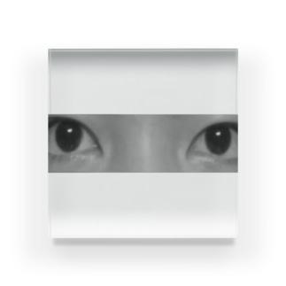 瞳 Acrylic Block