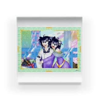 恋と明 Acrylic Block