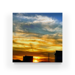 陽の沈み Acrylic Block