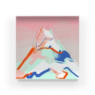samui yama Acrylic Block