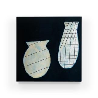 線を持つ花瓶たち Acrylic Block