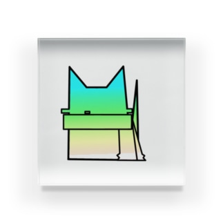 limo-catグラデーション #1 Acrylic Block