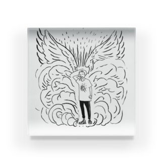 堕天使 アクリルブロック
