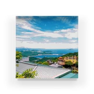 風景 Acrylic Block