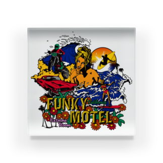 JOKERS FACTORYのFUNKY MOTEL Acrylic Block