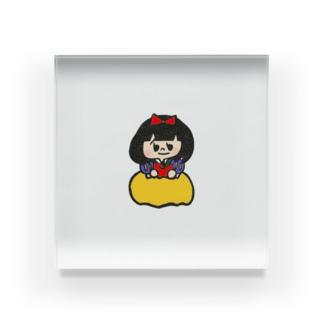 白雪姫 Acrylic Block