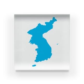 統一朝鮮旗 General Korea flag Acrylic Block