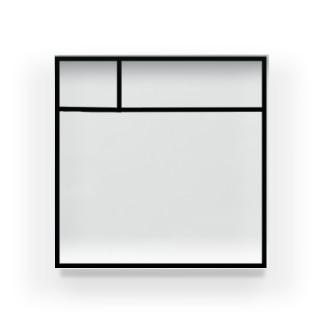 サークルカット風 Acrylic Block